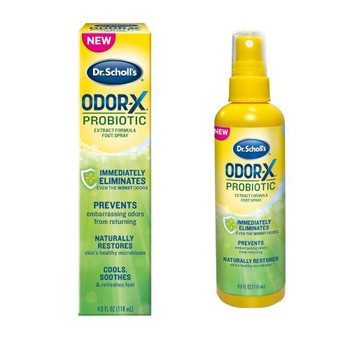 Dr Scholl's Odour-X Probiotic Foot Spray | 118ml