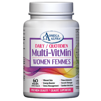Omega Alpha Daily Multi-VitMin - Women | 60 VEGCAPS