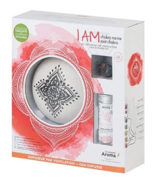 Aroma Counter I AM Root Chakra Fan Diffuser Kit