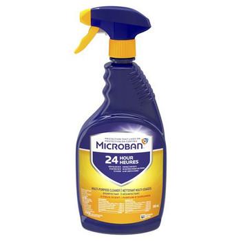 Microban 24 Hour Multi-Purpose Cleaner & Disinfectant Spray - Citrus Scent | 946 ml
