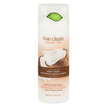 Live Clean Coconut Milk Moisturizing Body Wash | 500 ml