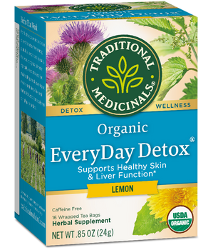 Traditional Medicinals Organic EveryDay Detox - Lemon | 24 g