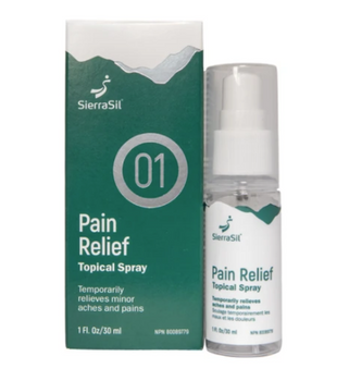 SierraSil Pain Relief Topical Spray   30 ml