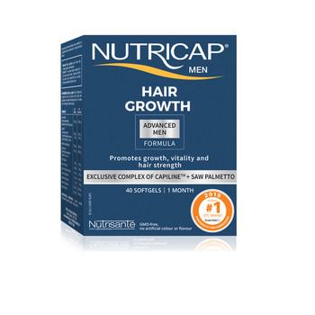 Nutricap Men Hair Growth Advanced Formula | 40 Softgels