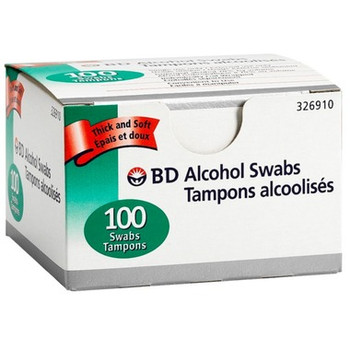 BD Alcohol Swabs | 100 Count