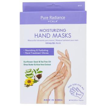 Moisturizing Hand Masks - Nourishing & Hydrating - Sunflower Seed & Tea Tree Oil - Shea Butter & Aloe Vera Extract | 3 Pairs