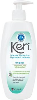 Keri - Intense Hydration - Fragrance Free Lotion | 430ml