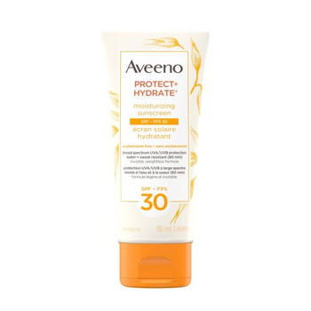Aveeno Protect + Hydrate - Moisturizing Sunscreen - SPF 30 | 88ml