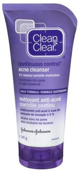 Clean & Clear - Continuous Control Acne Cleanser   150ml