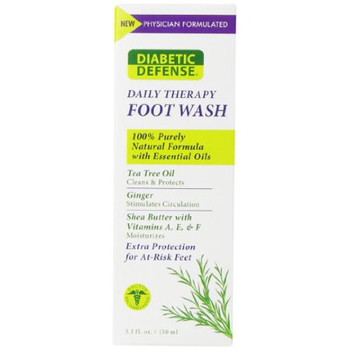 Pedifix Diabetic Defense Daily Therapy Foot Wash with Shea Butter & Vitamins   150 ml