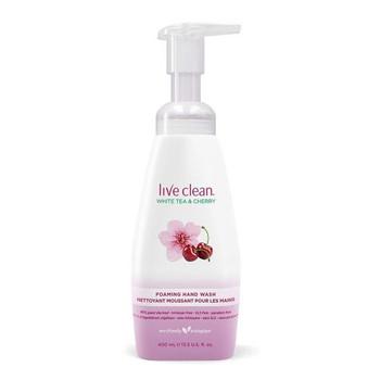 Live Clean White Tea & Cherry Foaming Hand Wash | 400ml