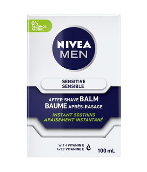 Nivea Men Sensitive After Shave Balm - Instant Soothing With Vitamin E | 100ml