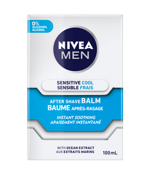 Nivea Men Sensitive Cool After Shave Balm - Instant Soothing With Ocean Extract | 100ml