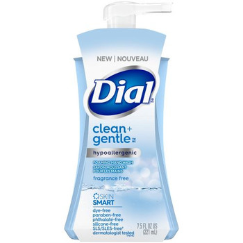 Dial Clean + Gentle  - Hypoallergenic Foaming Hand Wash - Fragrance Free | 221ml