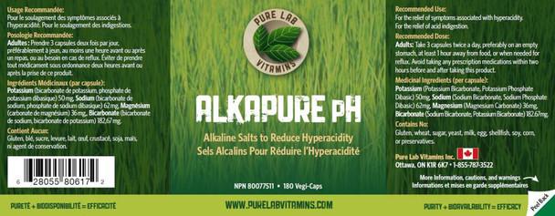 Pure Lab Alkapure pH 60