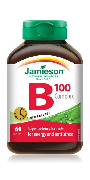 Jamieson B 100 Complex, Ultra Strength, Timed Release | 60 Caplets
