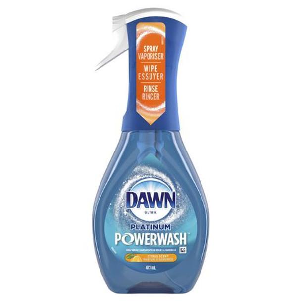 Dawn Ultra Platinum PowerWash Dish Spray - Citrus Scent   473 ml
