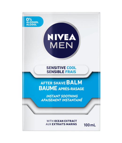 Nivea Men Sensitive Cool After Shave Balm - Instant Soothing With Ocean Extract   100ml