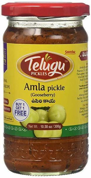 Telugu Amla Pickle 300GmTelugu 8906081380203