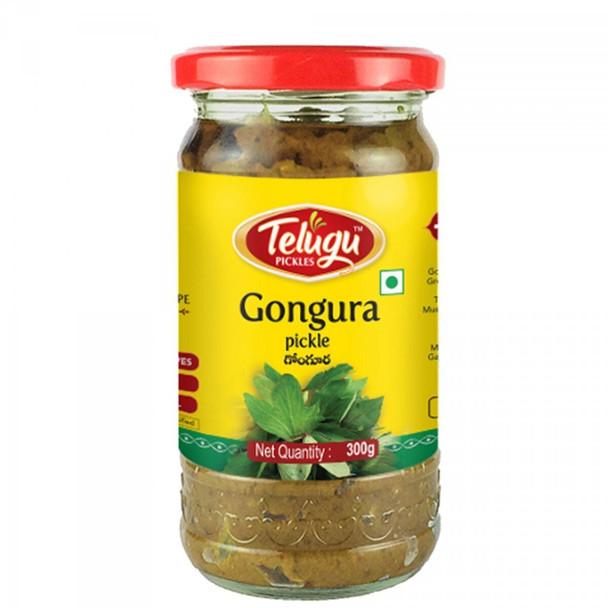 Telugu Gongura Pickle 300MlTelugu 8906081380180