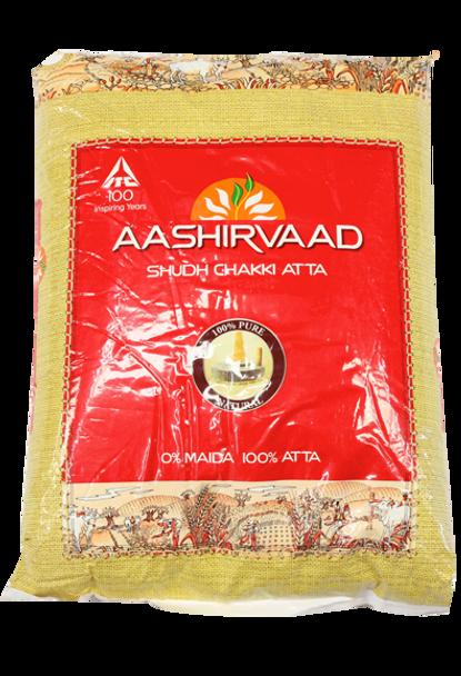 Aashirvaad Chakki Atta 4.4Lb - Aashirvaad