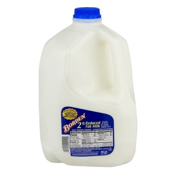 Milk - 2percent Milk Borden