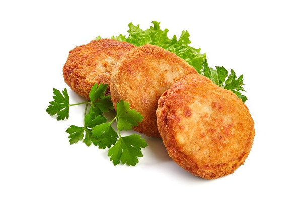Fresh Vegetable Cutlet - 3 Pieces