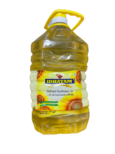 Idhayam Refined Sunflower OIl - 5L