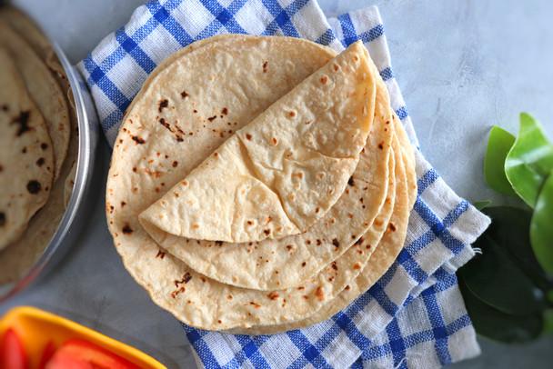 Home-Made Fresh Chapati/Roti - 8 quantity