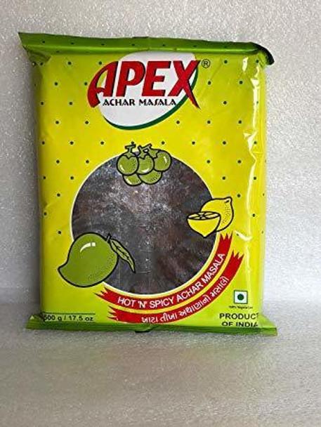 Apex Achar Masala Hot n Sp - Apex 500gms
