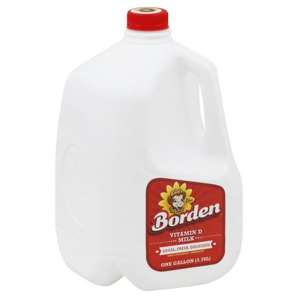 Oak Farms Milk - Whole Milk 1 gallon Borden