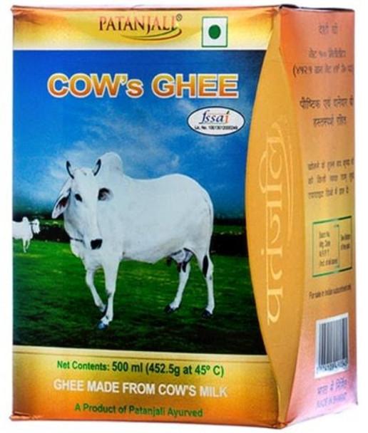 Patanjali Cows Ghee 500ml - Patanjali