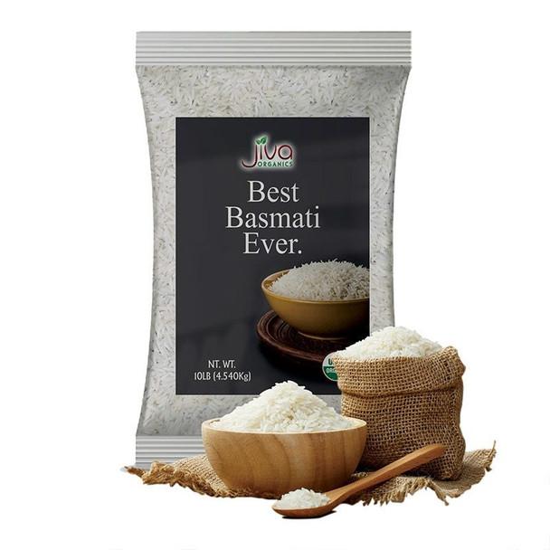 Jiva Organic Basmati Rice 10lb - Jiva