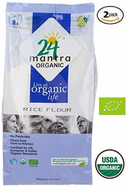 24 Mantra Rice Flour 2 Lbs - 24 Mantra