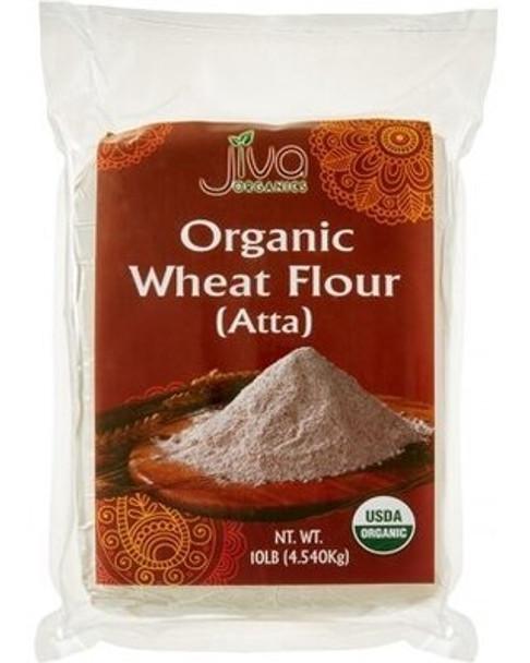 Jiva Organic Wheat Flour 10lb - Jiva