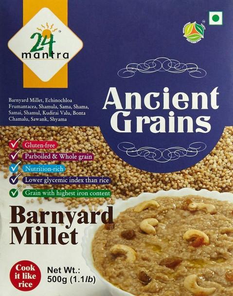 Ancient Grains Organic Barnyard Millet - Ancient Grains 1.1 LB