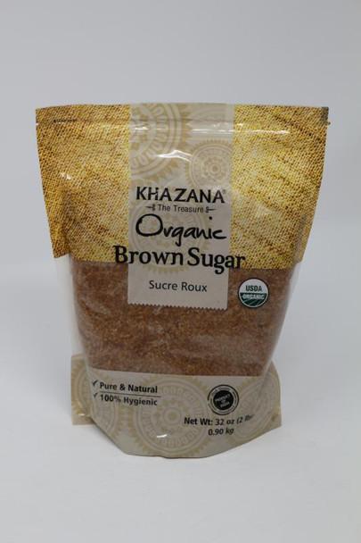 Khazana Organic Brown Sugar 2lb - Khazana