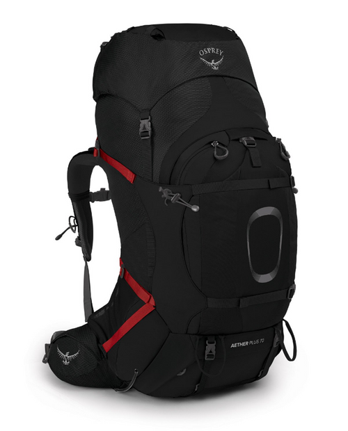 Aether Plus 70 in black S/M
