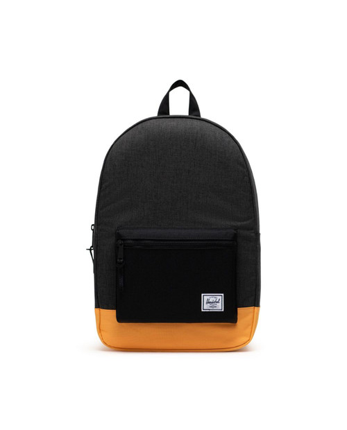 Settlement Backpack in  Black Crosshatch/Black/Blazing Orange