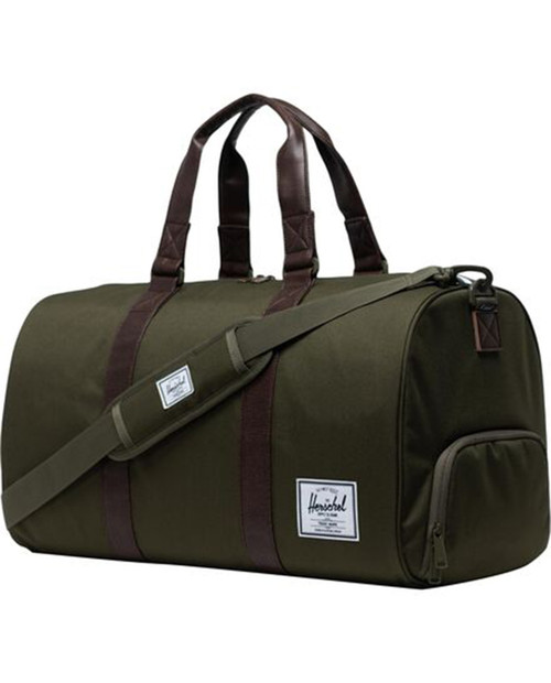 Novel Duffel in Ivy Green/Chicory Coffee