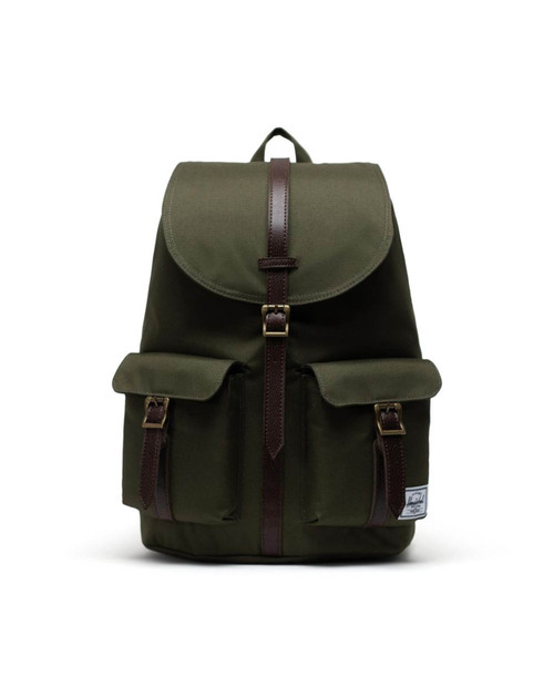 Dawson Backpack in Ivy Green/Chicory Coffee