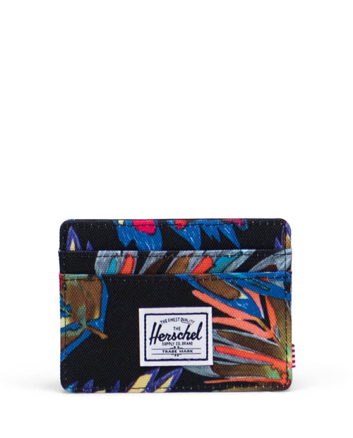 Charlie RFID Wallet in Painted Palm