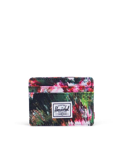 Charlie RFID Wallet in Pixel Floral