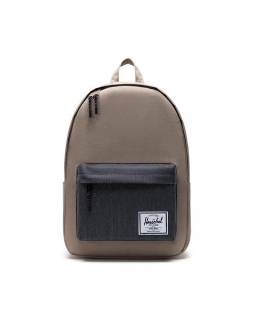 Classic X-Large Backpack  in Timberwolf/Black Denim