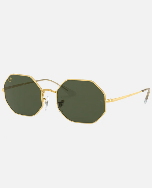 The Octagon with Legend Gold Frame and G15- Green Lens