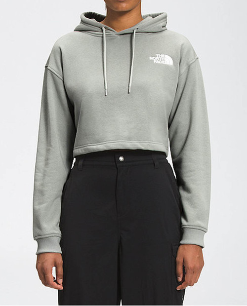 THE NORTH FACE Womens Logo Crop Drop Hoodie
