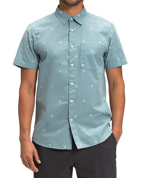 Mens S/S Baytrail Jacquard Shirt