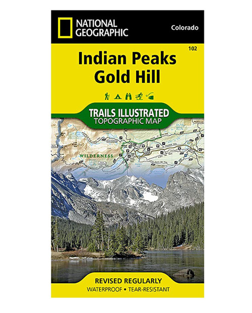 NATIONAL GEO MAPS Indian Peaks Gold Hill