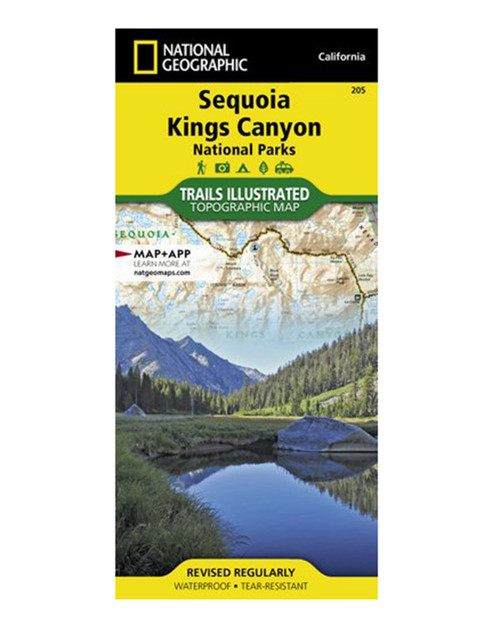 NATIONAL GEO MAPS Sequoia/Kings Canyon N.P. #205