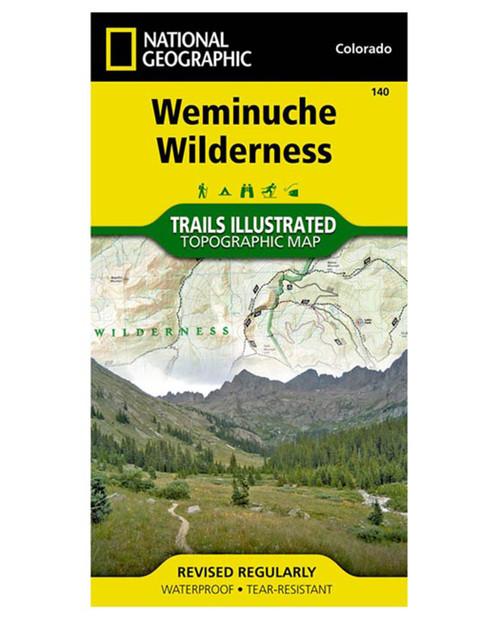NATIONAL GEO MAPS Weminuche Wilderness #140